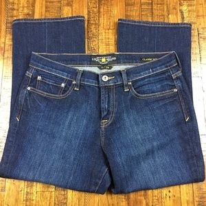 Lucky Brand Jeans Classic Rider Danville Crop